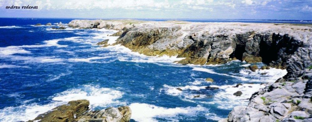 Peninsula de Quiberon. Bretanya