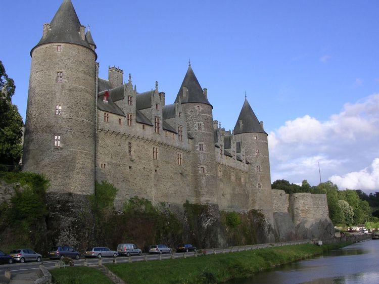 Castell de Josselin. Bretanya Francesa