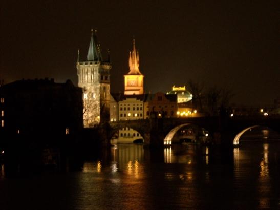El pont de Carles V a Praga. republica Txeca