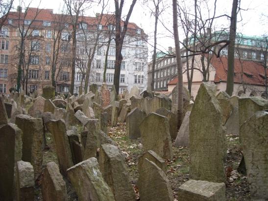 El cementiri jueu de Praga.