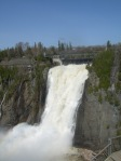 Catarates de Momctmorency. A les afores de Quebec