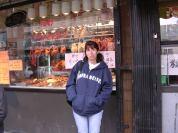 Pato pekines. Chinatown de San Francisco. California