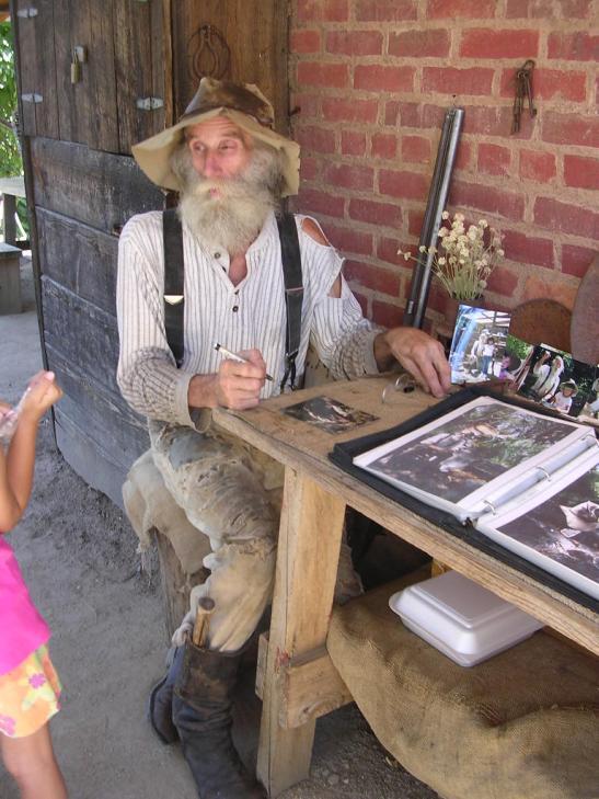 Un autèntic buscador d'or a Columbia. Califòrnia