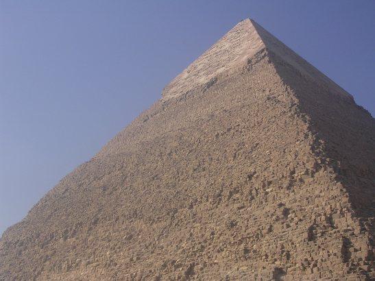 La piràmide de Keops a Gizeh ( El Caire)