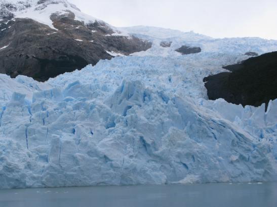 Glaciar Spagazzini. PN Los Glaciares. Patagonia