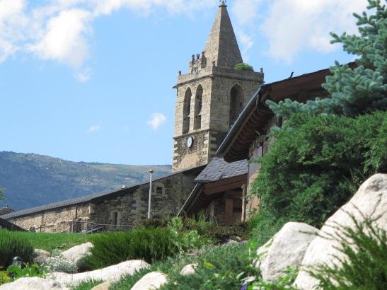 L'esglesia de Llivia.
