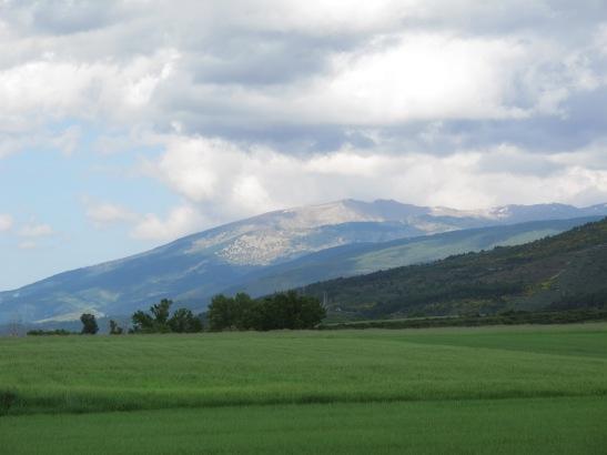 Panoràmica de la Cerdanya des d'Alp
