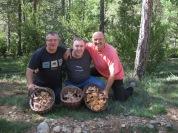 Amb en Josep Serrano i en Paco Clos al Pirineu