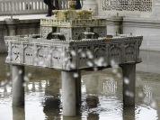 Una font en un dels patis del palau Topkaki d'Istanbul