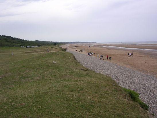 Omaha Beach. Una de les famoses platges del desembarcament de Normandia durant la 2ª guerra mundial