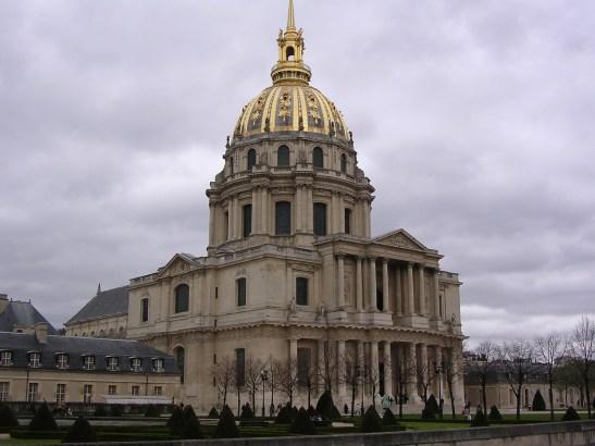 Les Invalides és el monument funerari dedicat a Napoleó. París