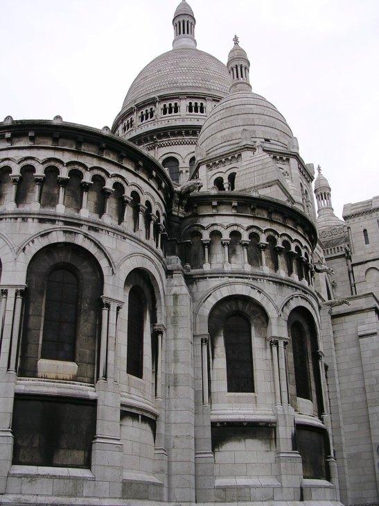 """Vista del """"Sacre Cour"""" de París"""