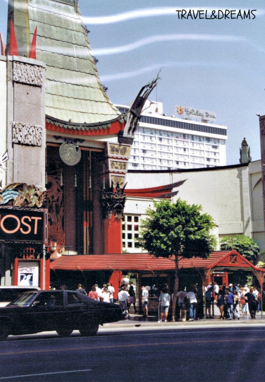 Teatre Xinès a Hollywood Boulevard (Los Angeles) / Grauman's Chinese Theatre in Hollywood Boulevard (Los Angeles)