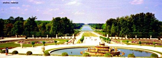 Jardins de Versailles. París