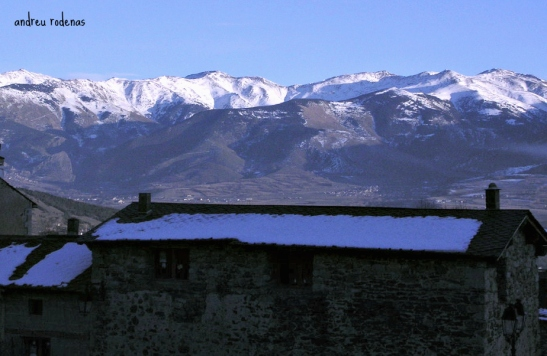 Vista del Puigmal des de Dorres