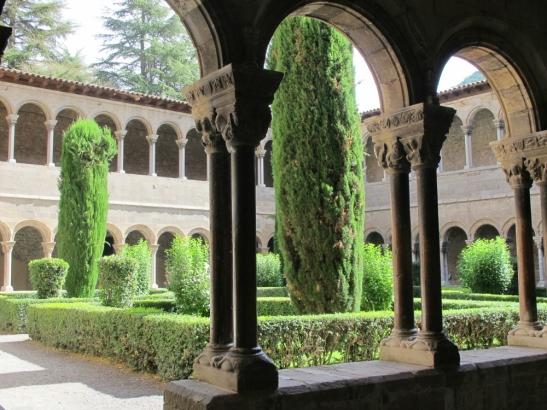 Claustre del monestir de Ripoll