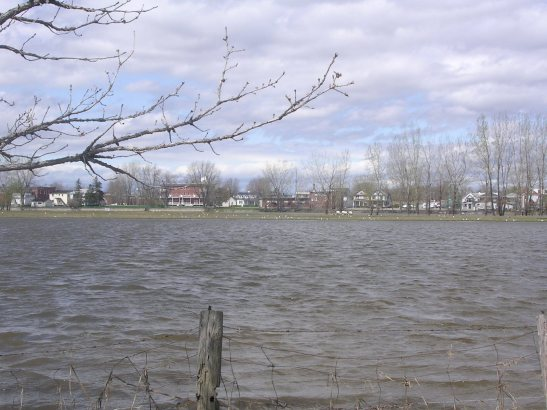 Riu Sant Llorenç al seu pas per Biertherville