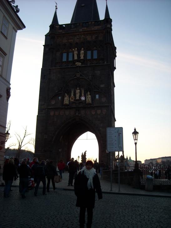 Començament del pont de Carles IV