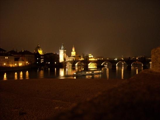 El pont de Carles IV des de Mala Strana