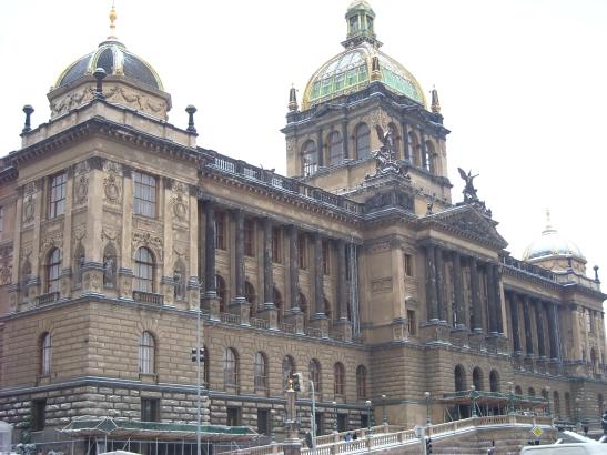 Museu Nacional de Praga a l'avinguda Wenceslas