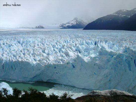 El Perito Moreno des de les pasarel.les, Patagonia