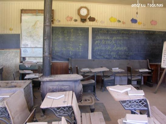 L'escola tal com la van abandonar