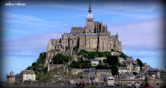 Mount Saint Michel. Normandia