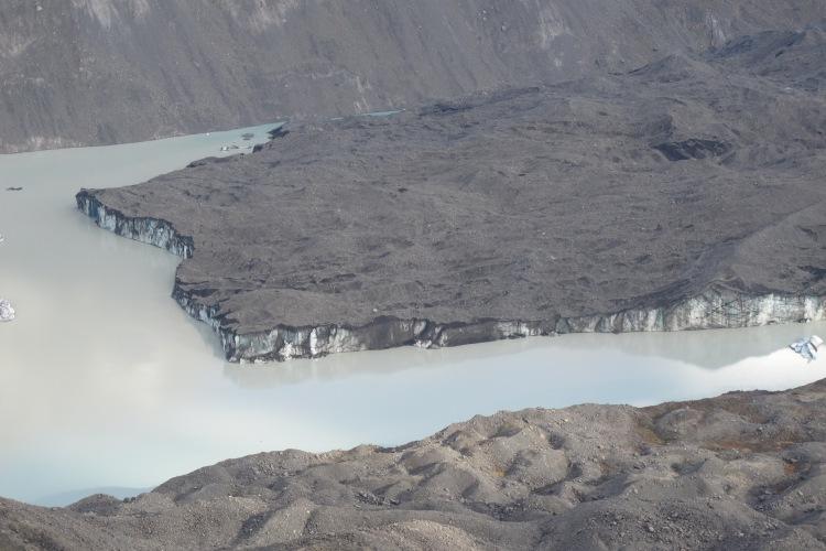 Tasman Glacier. Mt.Cook National Park. Nova Zelanda