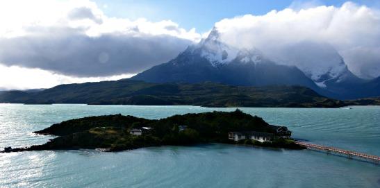Llac Pehoe. P.N.Torres del Paine / Lake Pehoe. Torres del Paine N.P.