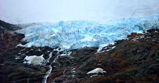 Glacera Balmaceda. P.N. Bernardo O'HIggins / Balmaceda Glacier. Bernardo O'Higgins N.P.