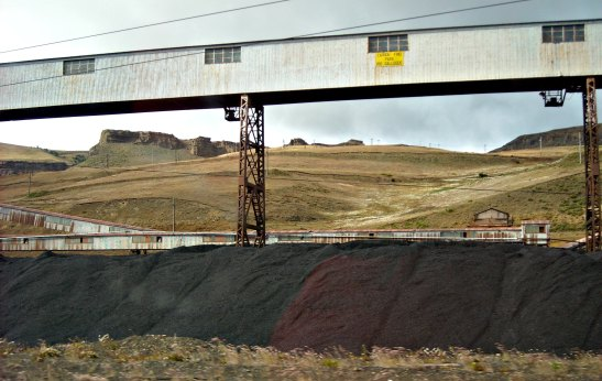 Mines de carbó a Rio Turbio / Rio Turbio coal mine
