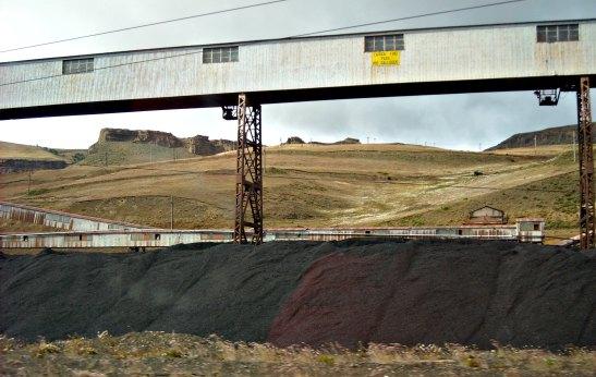 Mines de carbó a Rio Turbio / Rio Turbio coal mine