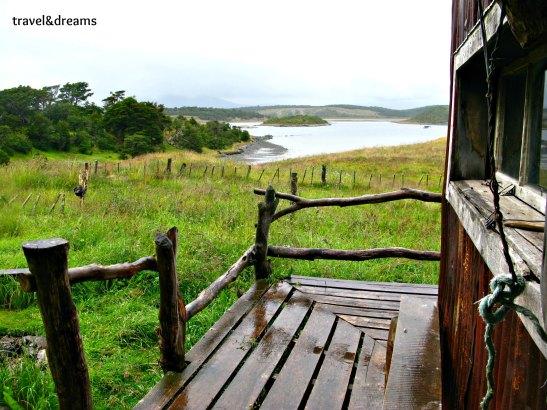 Vista de la Isla Gable des del refugi / A view of Gable Island from the shelter
