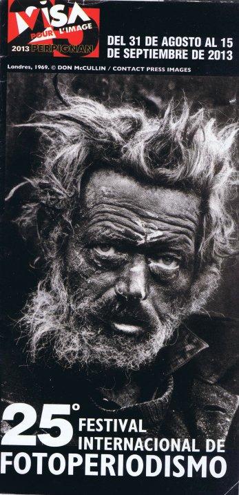 Cartell del Festival amb una de les fotografies més reconegudes de Don Mc Cullin