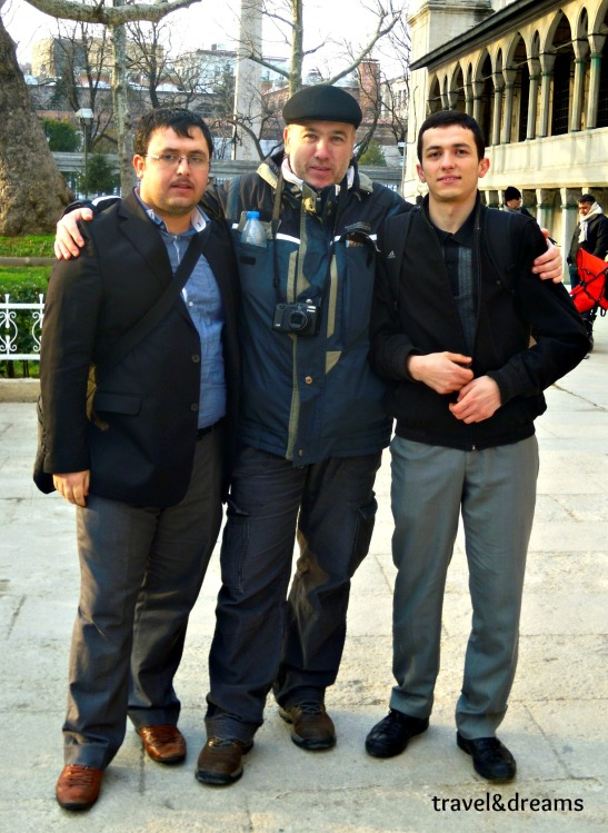 Amb dos amics turcs a Istanbul / With two turquish friends in Istambul