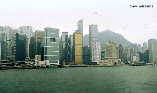 Hong Kong des de la badia / Hong Kong city from the bay