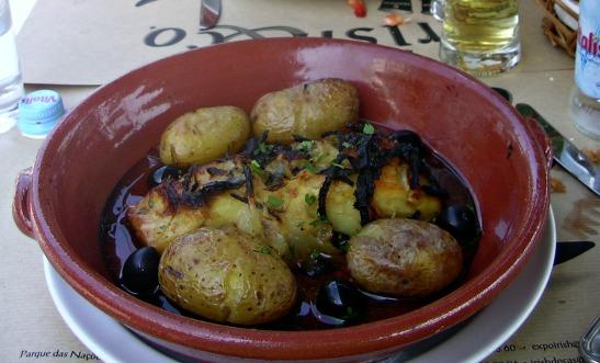 Bacalado con patatas / Cod fish with potatoes