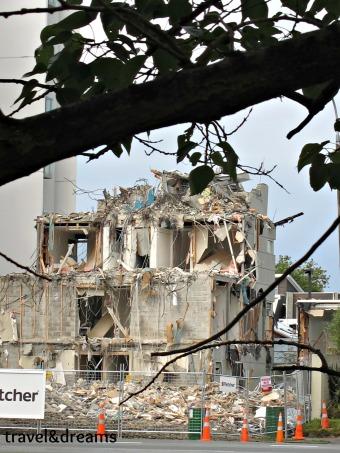 Efectes del Terratrèmol a Christchurch el dia 22/2/12