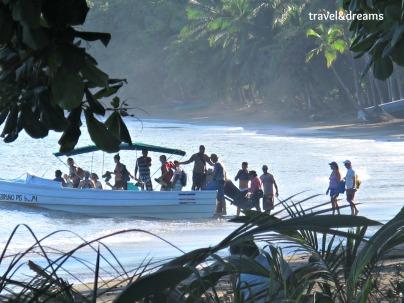 Arribada/Llegada a Bahia Drake