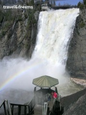 Mirador i catarata Montmorency